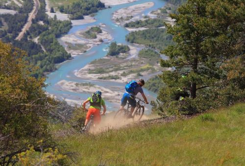 Singletraildescent abouve Saint Crepin
